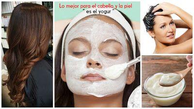El mejor producto para el cuidado de la piel y cabello es el yogur ~ Belleza y Peinados