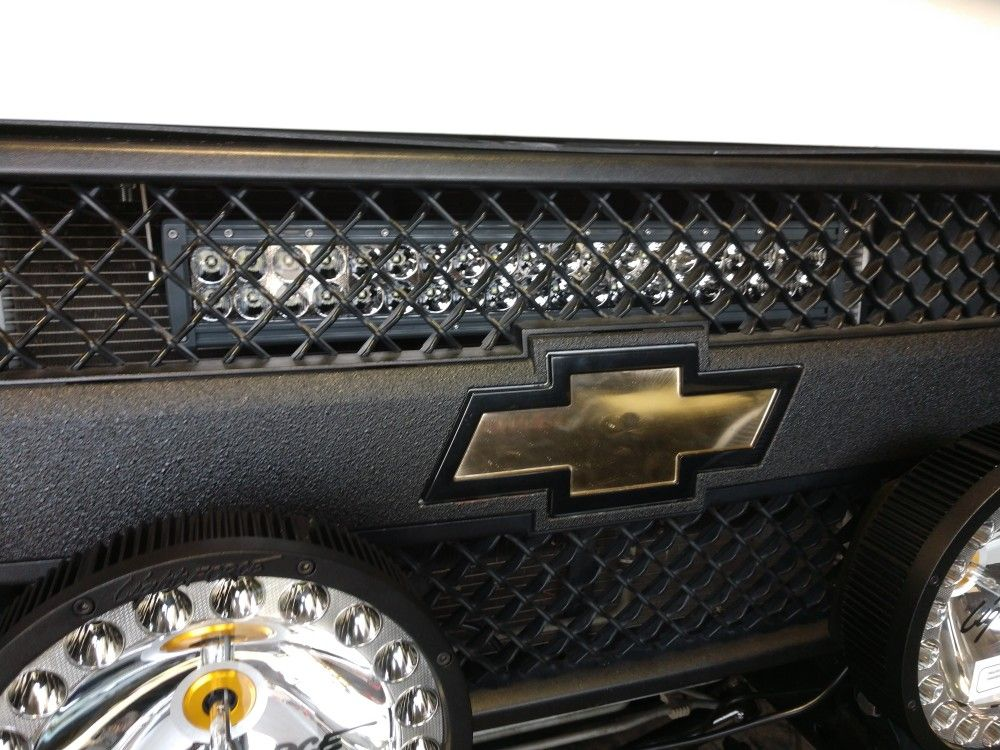 New Stealth Light Bar Mount For The Chevrolet Express Van Accessories Chevy Express Chevrolet
