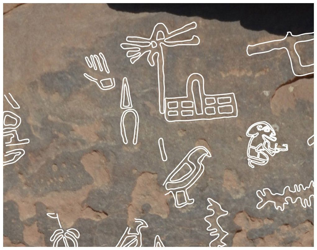 The Hieroglyphic Symbol At Top Showing What Looks Like A Rod With