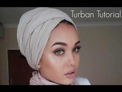 Three Ways to Tie Your Turban/Headscarf Tutorial | My ...