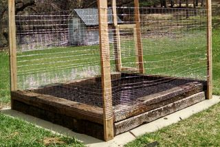 How To Diy Build A Small Garden With Railroad Ties The Dangers Of Creosote Building Raised Beds Small Garden Railroad Ties
