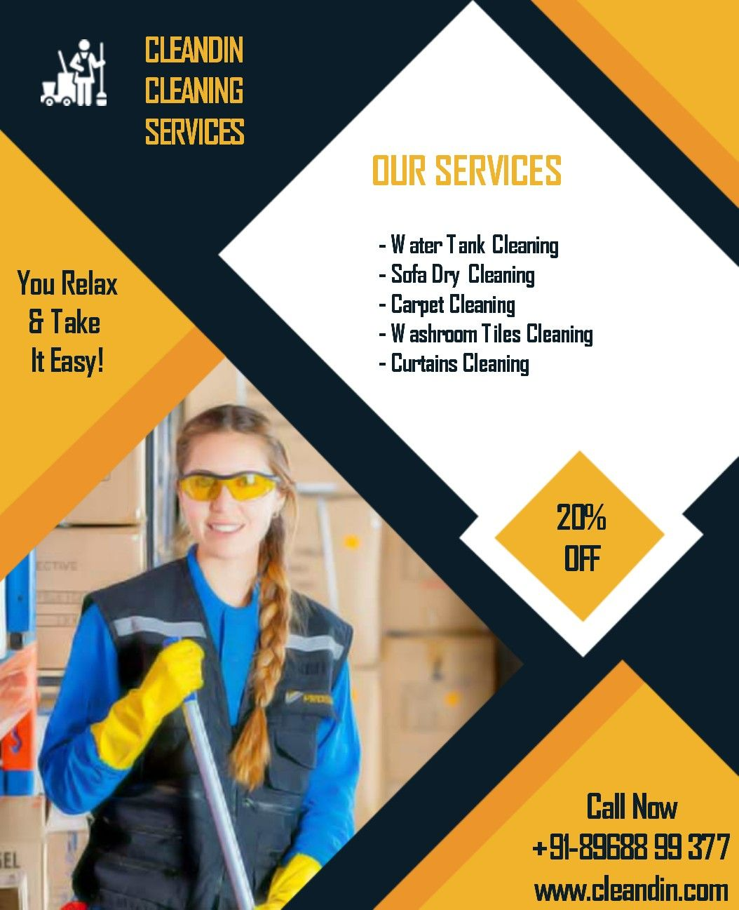 Cleandin Best Water Tank Cleaners In Chandigarh Mohali