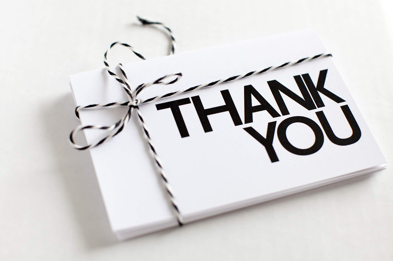 create a thank you card online free