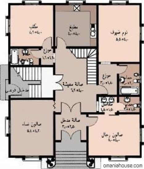 اجمل خريطة بيت