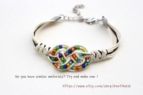 Bracelet tutorial (Double Coin Knot and Snake Knot