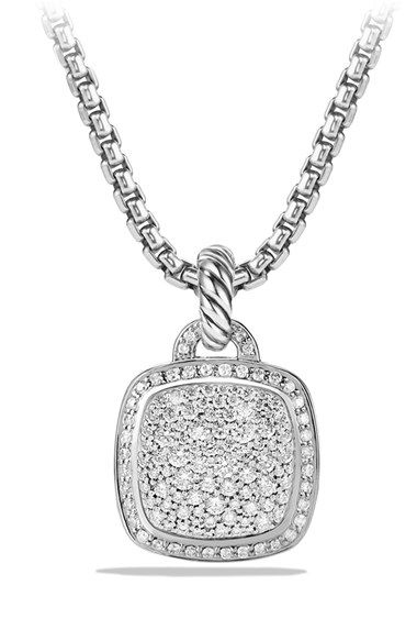David Yurman Albion Pendant With Diamonds Nordstrom Pendant Womens Jewelry Necklace Black Diamond Necklace