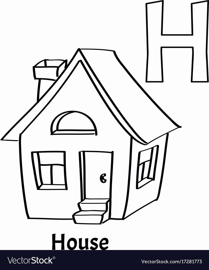 Letter H Coloring Page Inspirational Alphabet Letter H Coloring Page House Coloring Pages Inspirational Monster Coloring Pages Fall Coloring Pages