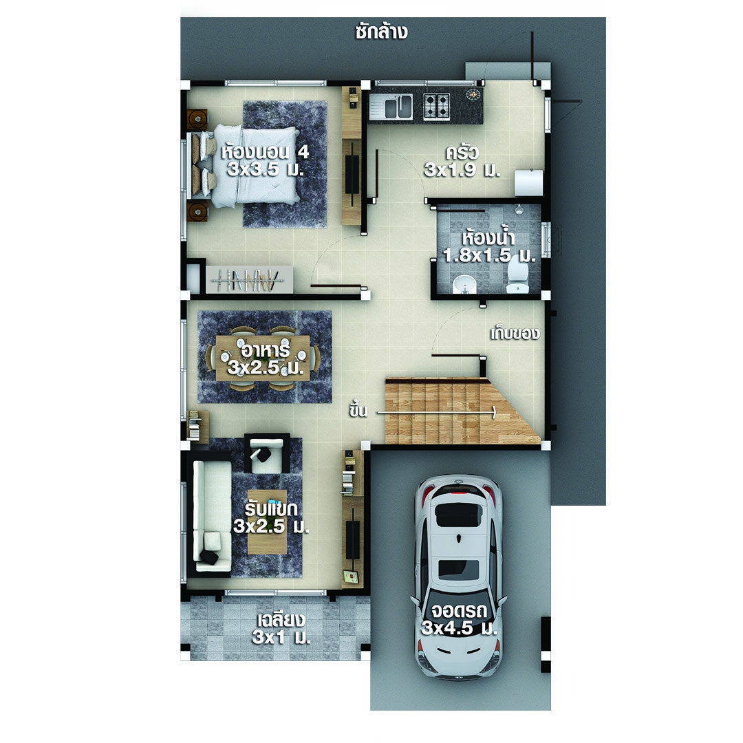 House Plans Idea 6x9 5 With 4 Bedrooms Sam House Plans My House Plans House Plans Two Bedroom House