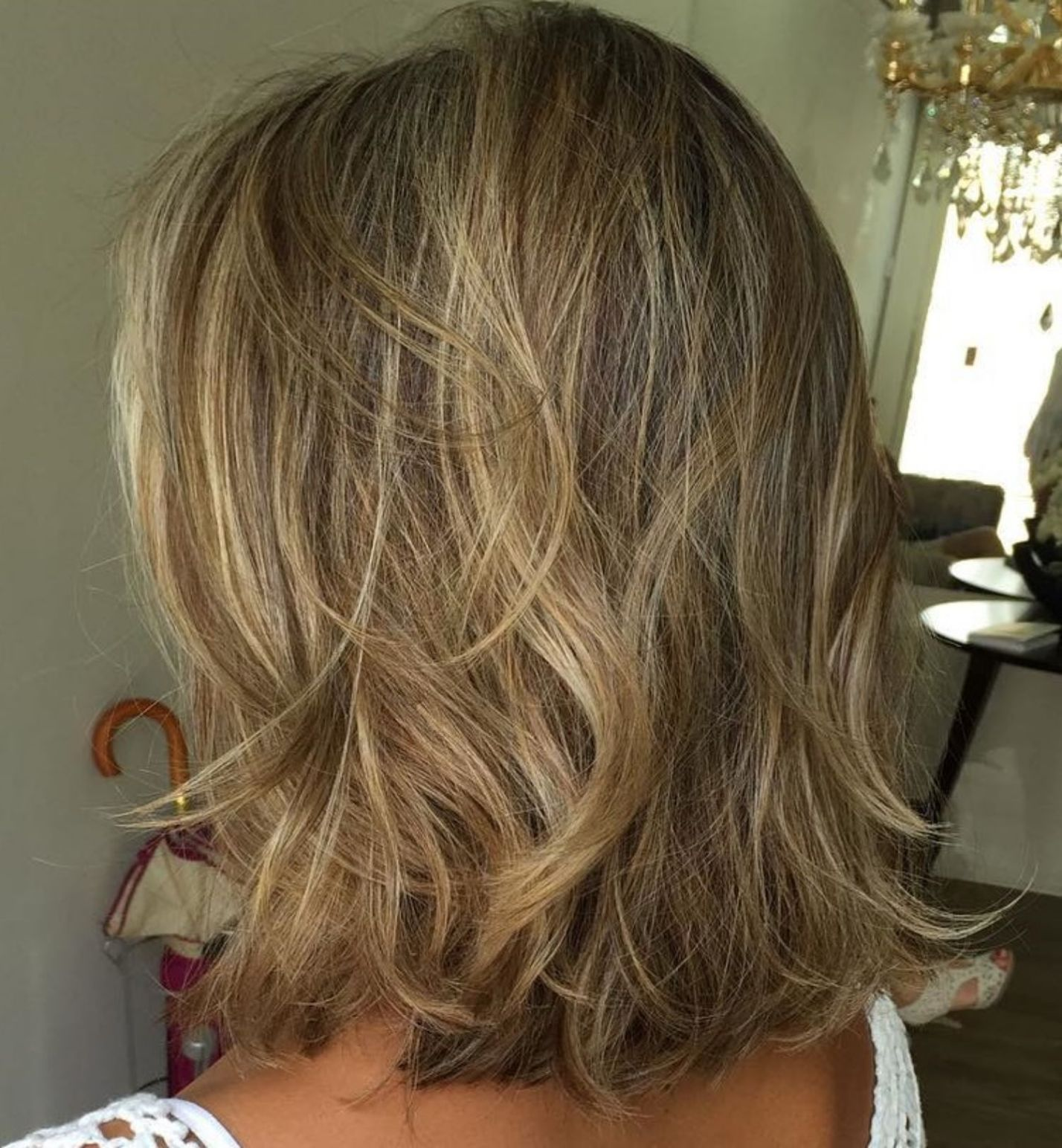 brightest medium layered haircuts to light you up hair