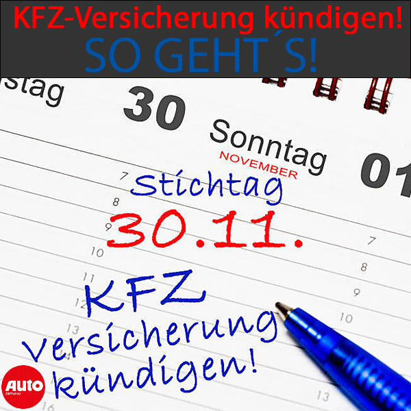 Kfz Versicherung Kundigen So Gehts Autozeitung De Kfz Versicherung Kfz Versicherung