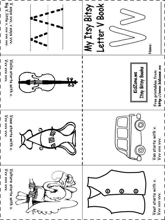 Free Minibooks For Lapbooks Alphabet Preschool Letters Alphabet Preschool Preschool Worksheets Preschool worksheets printable books