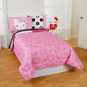Hello Kitty Twin Size Bedroom Set
