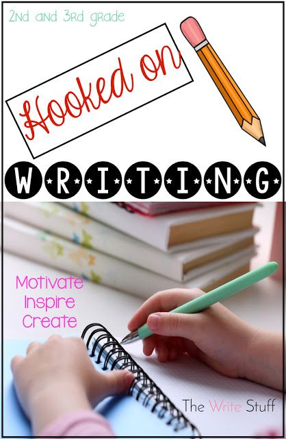 Hooked on Writing: August {Beginning a Writing Program} | 1st/2nd