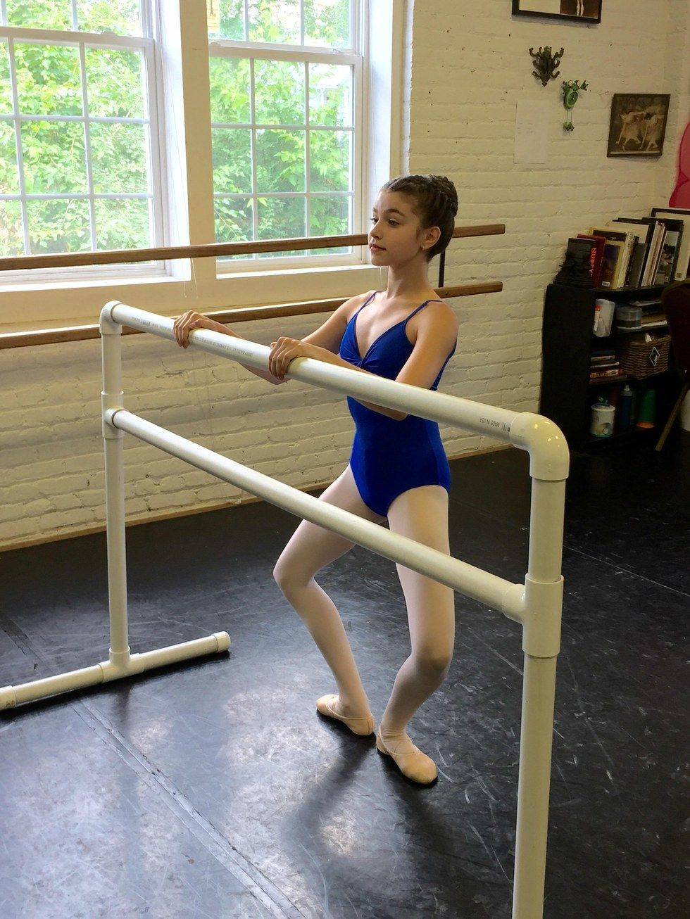 Most ballet teachers like to reserve the last part of