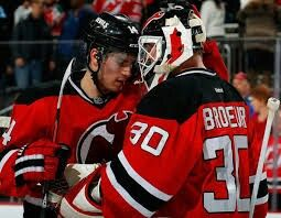 Marty And Adam New Jersey Devils Martin Brodeur Hockey Games