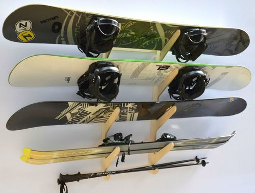 Image Result For Hanging Skis On Wall Modern Interieur