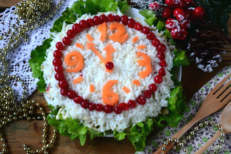 салаты на новогодний стол рецепты с фото аренды сейфов