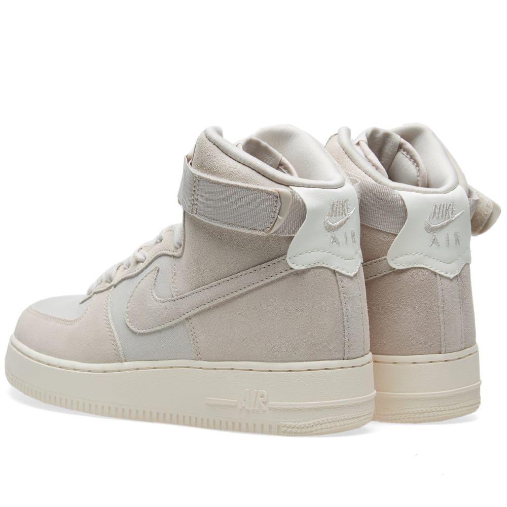 competitive price 3c1dd fd4d0 Nike Air Force 1 High  07 Desert Sand   Sail   Tags  sneakers, high tops,  suede, tan, beige, strap