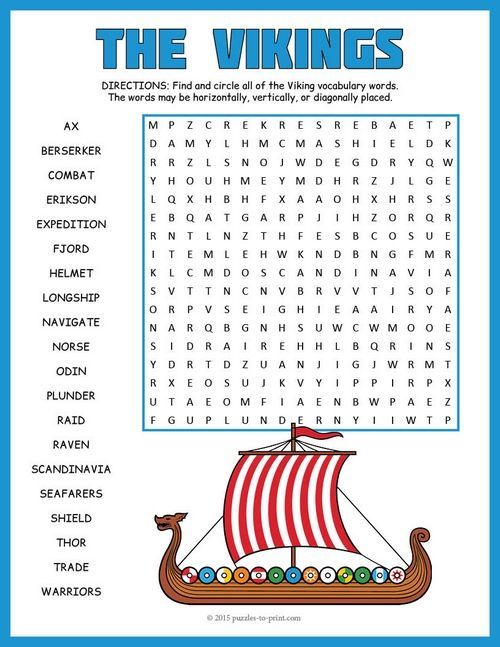 Vikings word search puzzle word search vikings and activities kids will have fun looking for the words in this viking word search it would make a good activity or game to reinforce vocabulary and ideas while studying ccuart Choice Image