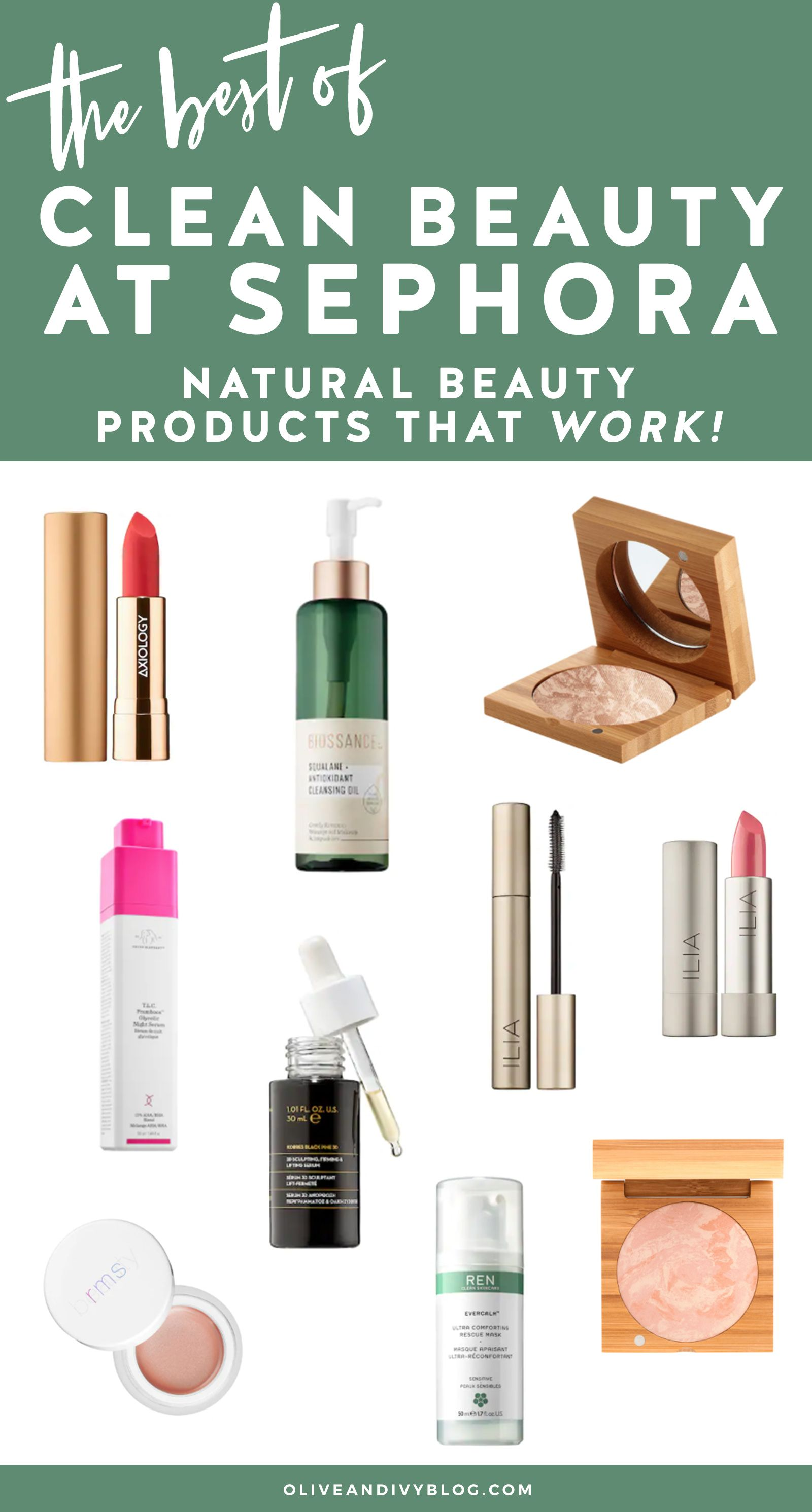 Best of Clean Beauty at Sephora Clean beauty, Beauty