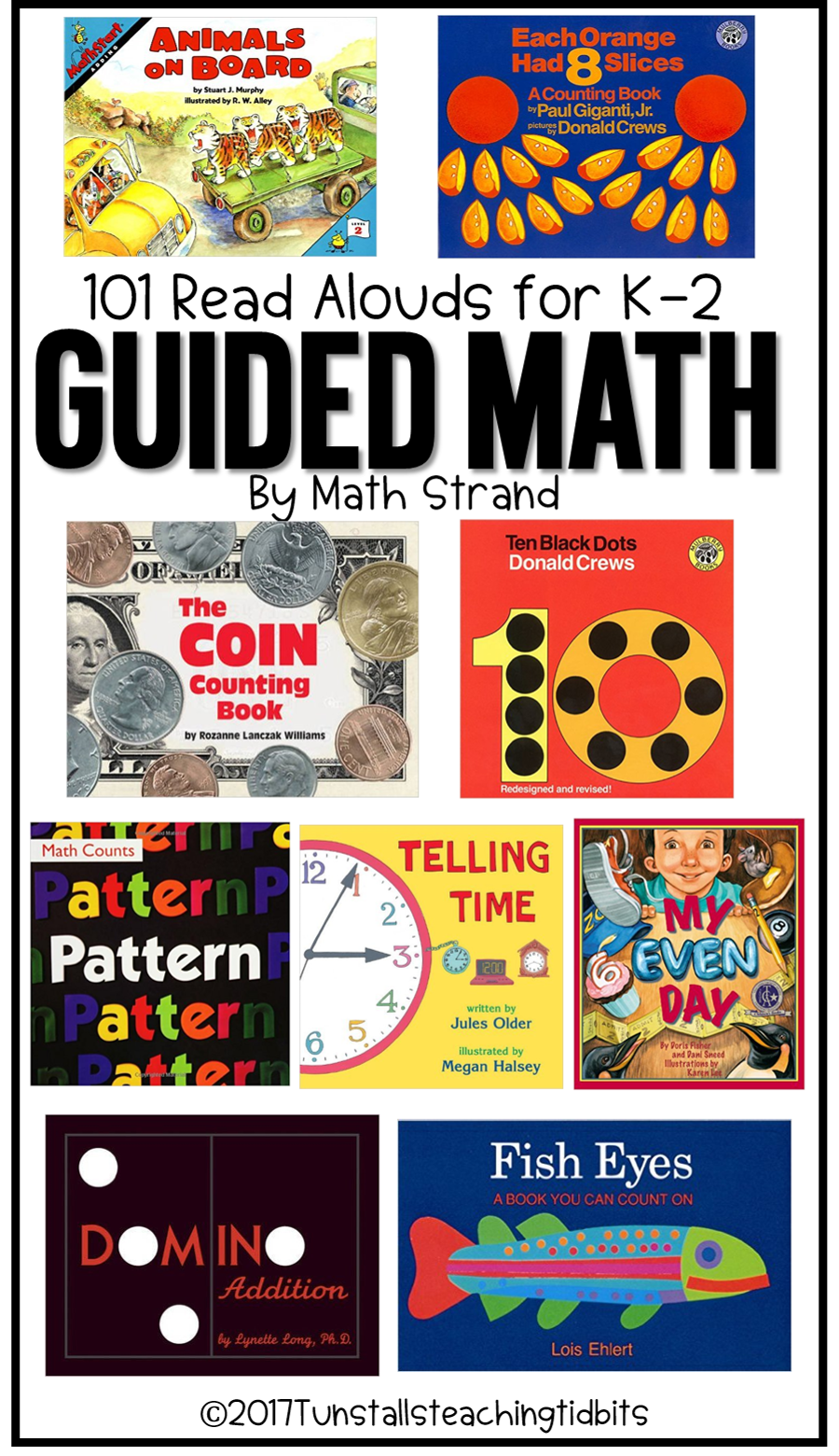 FREE comprehensive and clickable resource list for 101 guided math read  aloud books. 101 books grouped by math strand! Easily find the topics that  matter to ...