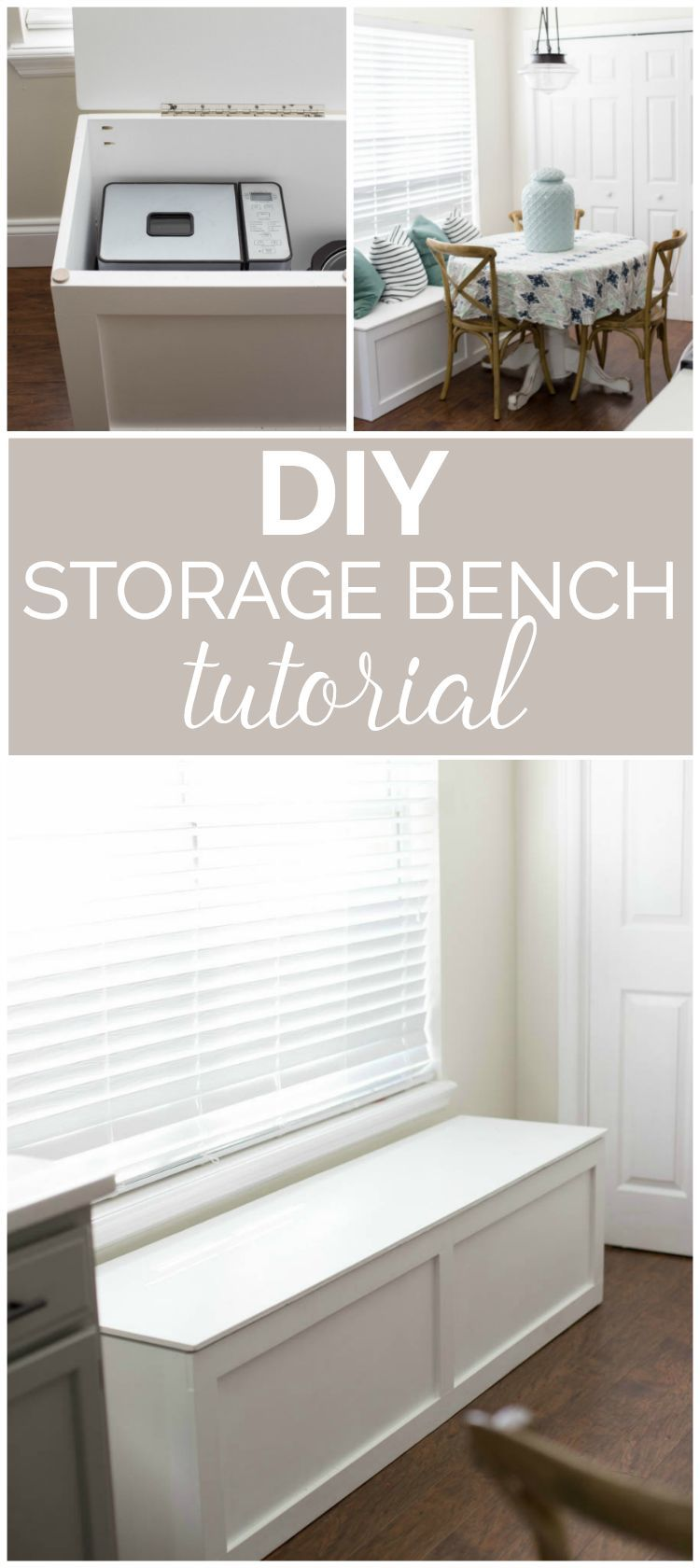 Wood Storage Bench Diy In 2020 Diy Storage Bench Diy Entryway Storage Window Seat Storage Bench
