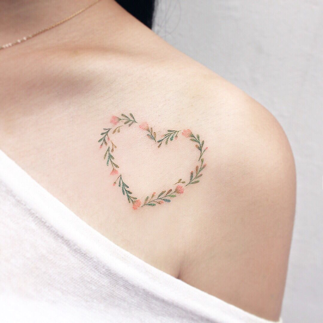 100 Heart Tattoos So Cute You Can T Handle It Beautiful Small Tattoos Tattoos Small Tattoos