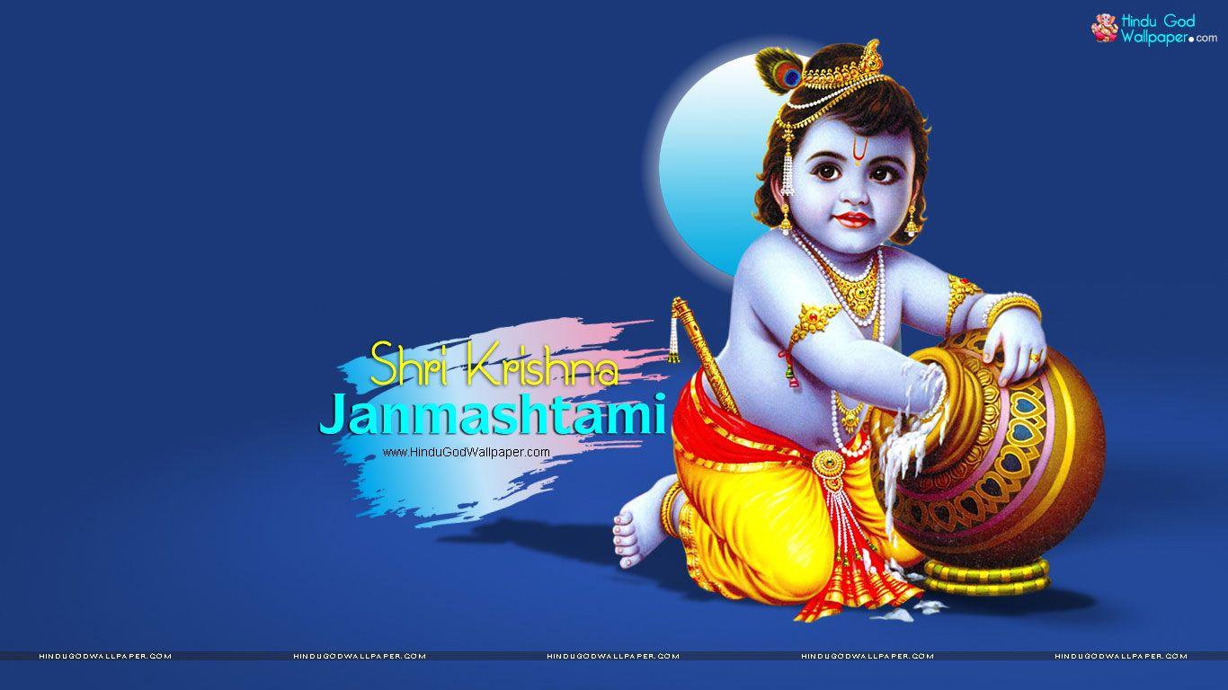 Sri krishna jayanti wallpaper - Shri Krishna Janmashtami Photos Wallpapers Download