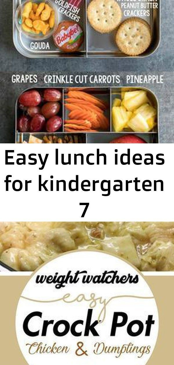 Easy lunch ideas for kindergarten 7 #chickendumplingscrockpot Easy Lunch Ideas for Kindergarten #lunchbox #bento #lunch Easy Crock Pot Chicken and Dumplings #weight_watchers #chicken #crock_pot #healthyrecipes Better than take-out! It's easy, flavorful and so hearty, you'll love this recipe! Perfect for busy weeknights. #recipe #food #chicken #chowmein #noodles #chinese #vegetables #easy #dinner #stirfry #chickendumplingscrockpot
