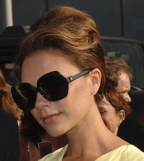 Audrey Hepburn hair.