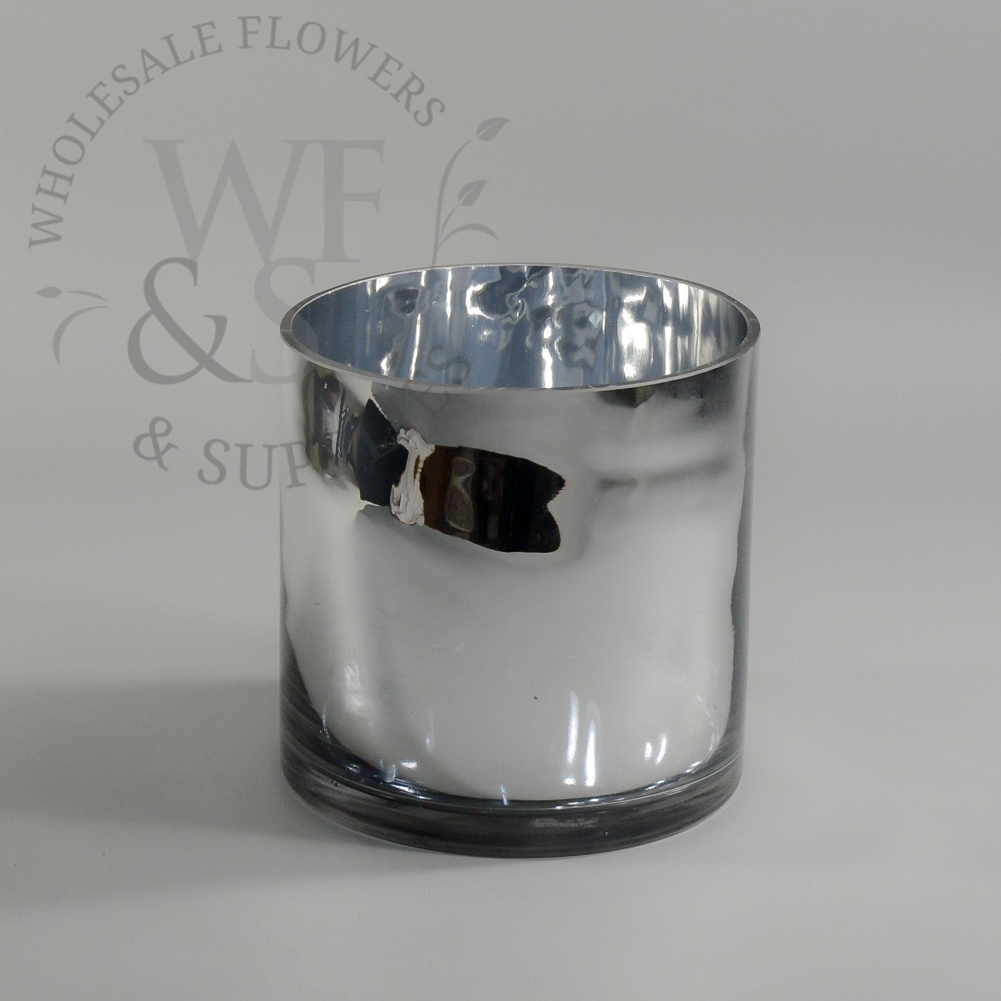 Mirrored glass cylinder vase 6 x 6quot wedding ideas mirrored glass cylinder vase 6 x reviewsmspy