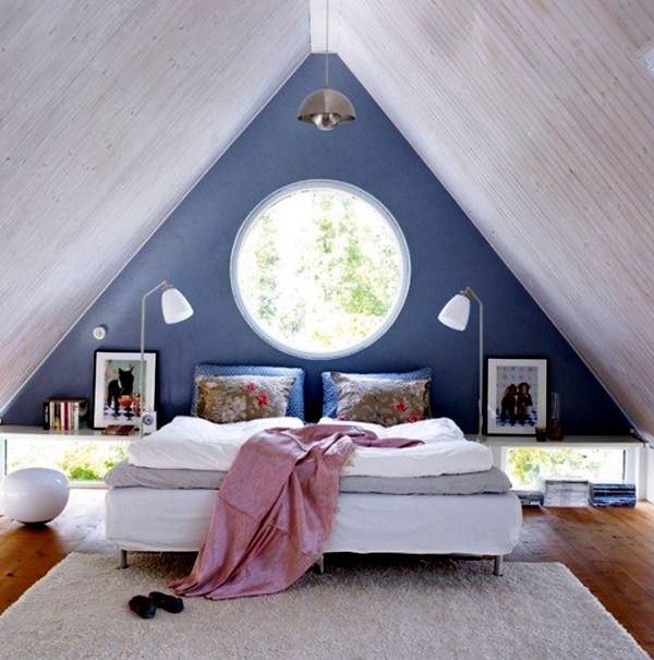 23 Decorating Ideas For Kids Room With Pitched Roof Scandinavian