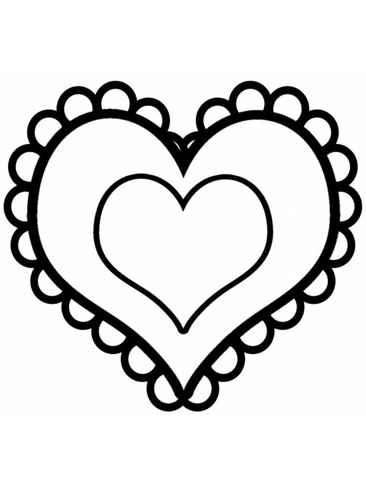 Heart Coloring Pages For Adults Pdf. Below is a collection