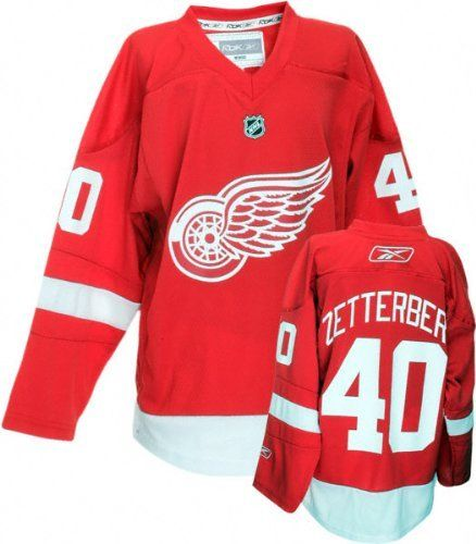 a99730486 Henrik Zetterberg Detroit Red Wings NHL Youth Red Replica Jersey by Reebok.   64.99. A