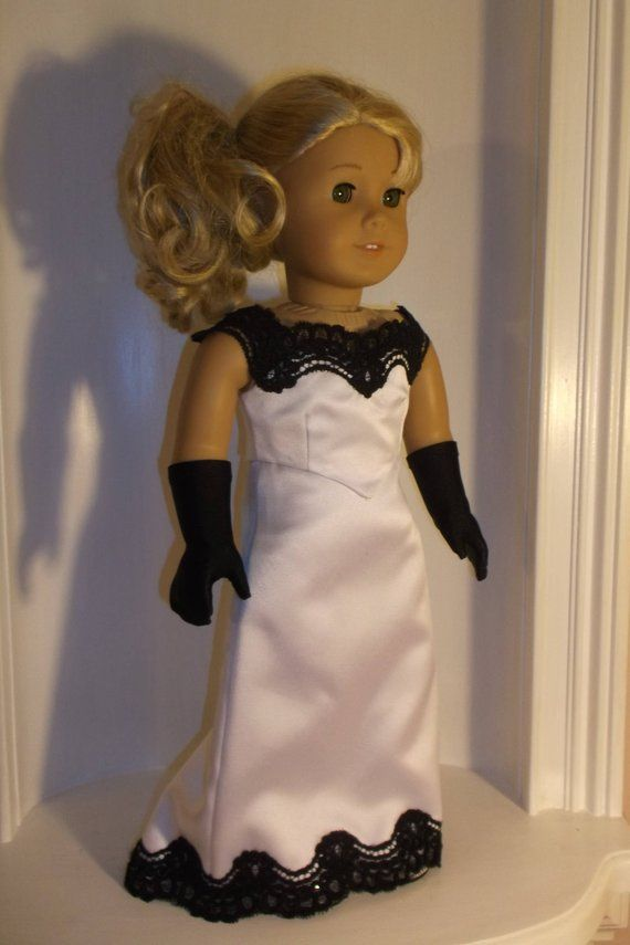 Ebony and Ivory in High Society! Fits 18 American Girl Doll #americandolls