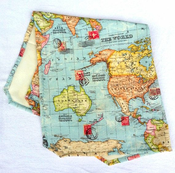 World map baby blanket welcome to the world hello to the world world map baby blanket travel blanket by katinkahomefactory gumiabroncs Gallery