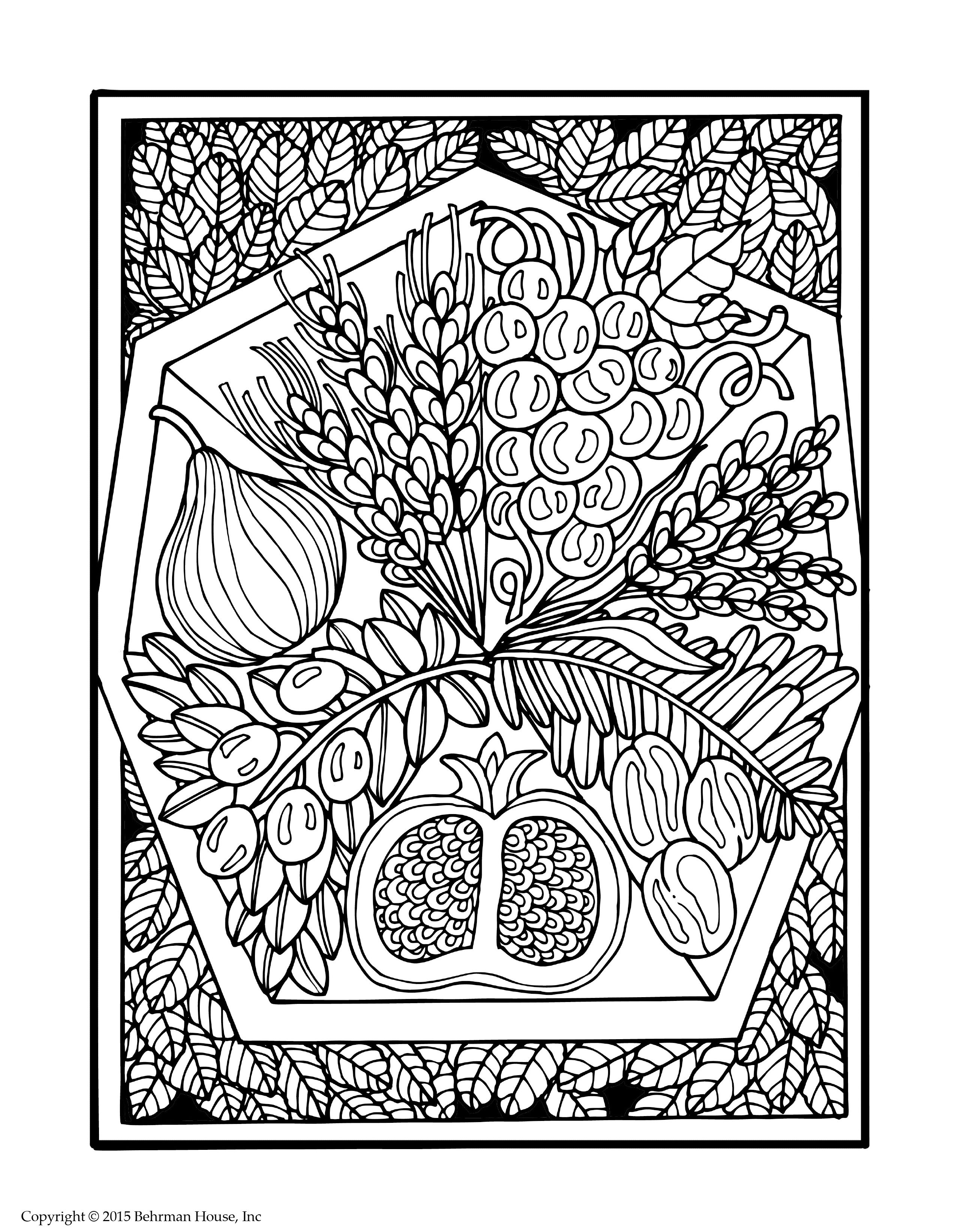 jewish coloring pages # 23