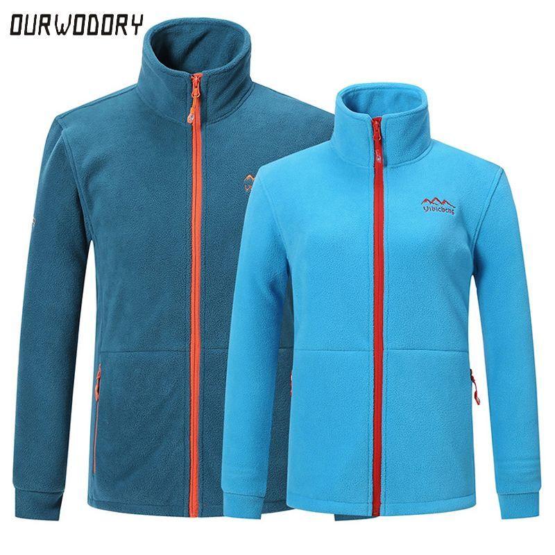 0467504c1d56 New women s fleece jacket men women outdoors autumn winter thermal parkas  Windbreaker coats female Softshell jacket