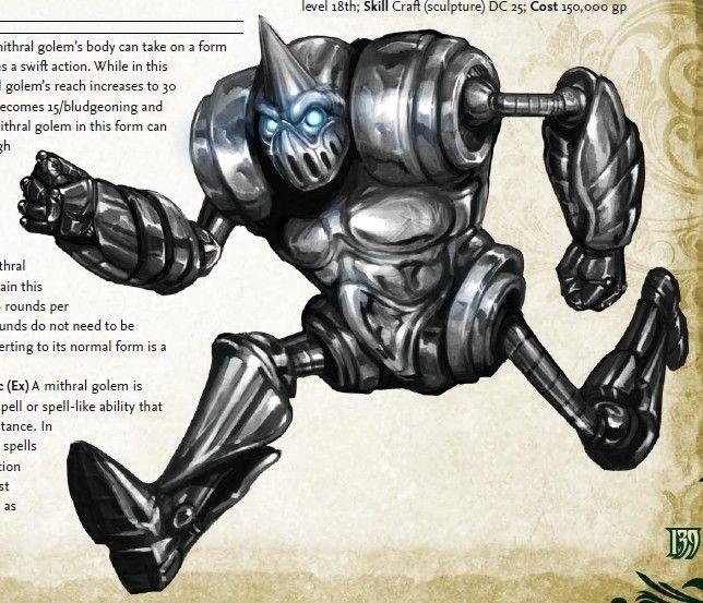 Mithral giant | Fantasy/Pathfinder | Pinterest