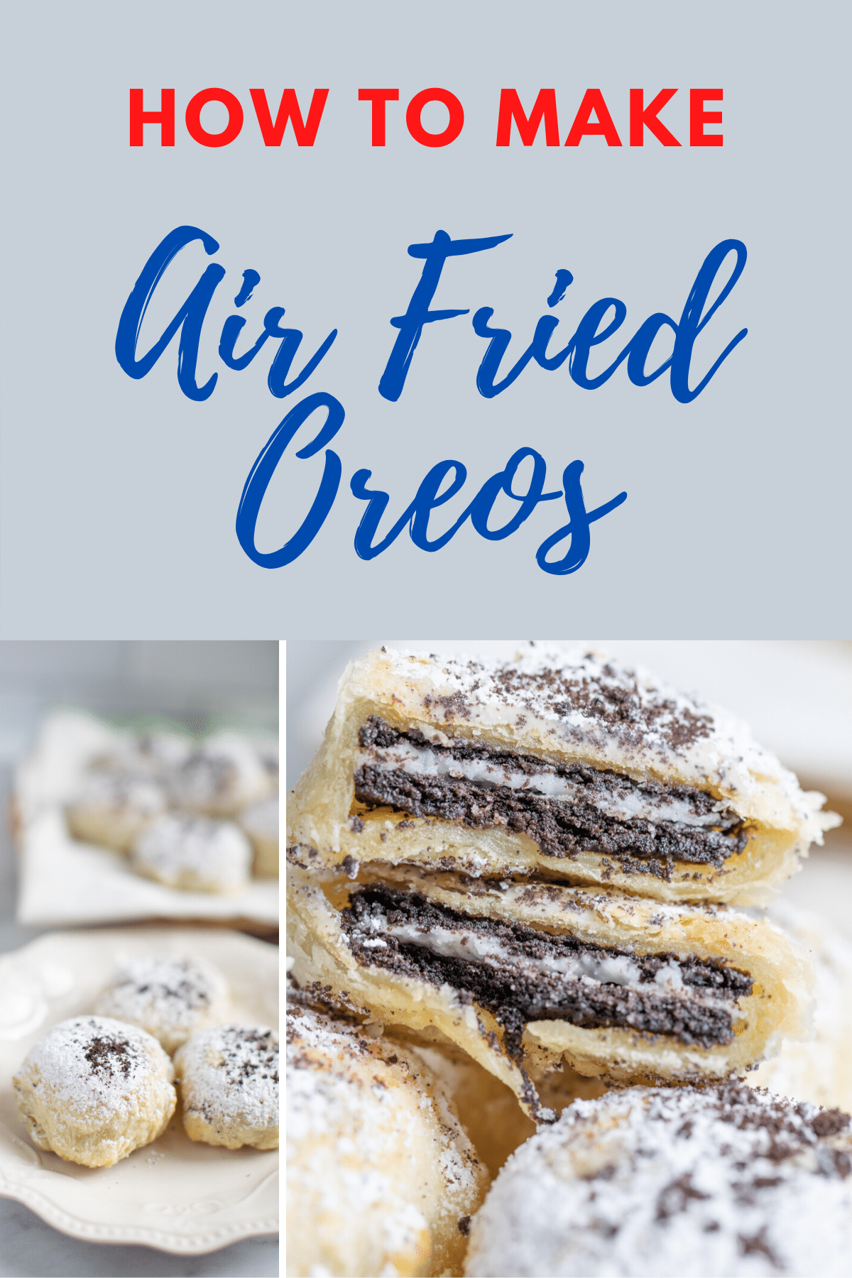 Air Fried Oreos ⋆ by Pink Recipe in 2020 Fried oreos