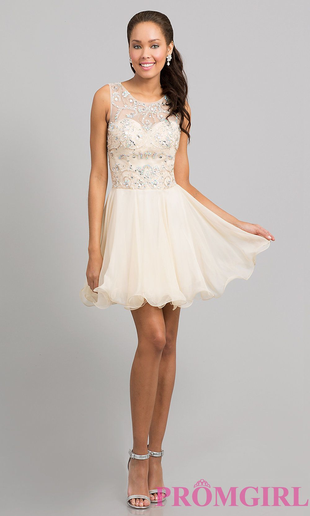 Short Prom Dress Style Dq 8708 Detail Image 1