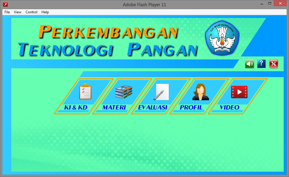 Aplikasi Multimedia Pembelajaran Interaktif Teknologi Pangan Game Edukasi Belajar Multimedia