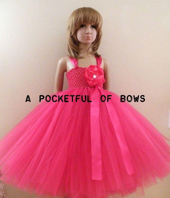 Pink tutu dress for toddler