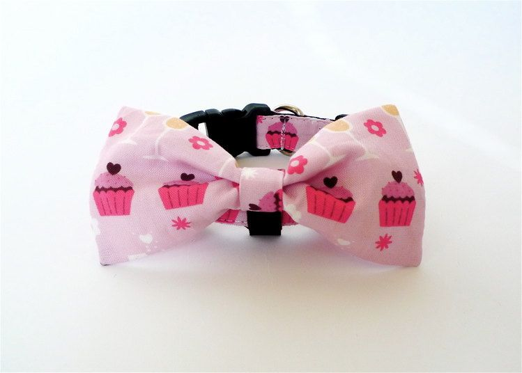 Bowtie+Collar+Cupcake+by+usagiteam+on+Etsy,+$24.00