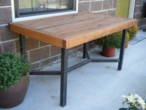 butcher block tablehave one of these just have to get it from