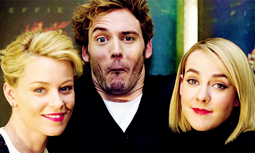 Oh my gosh. I absolutely love this guy right know! Sam Claflin