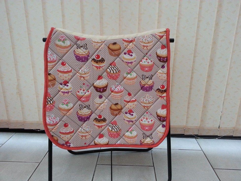 Tapis De Dressage Cheval Motifs Cupcakes Version 1 Tapis De Selle