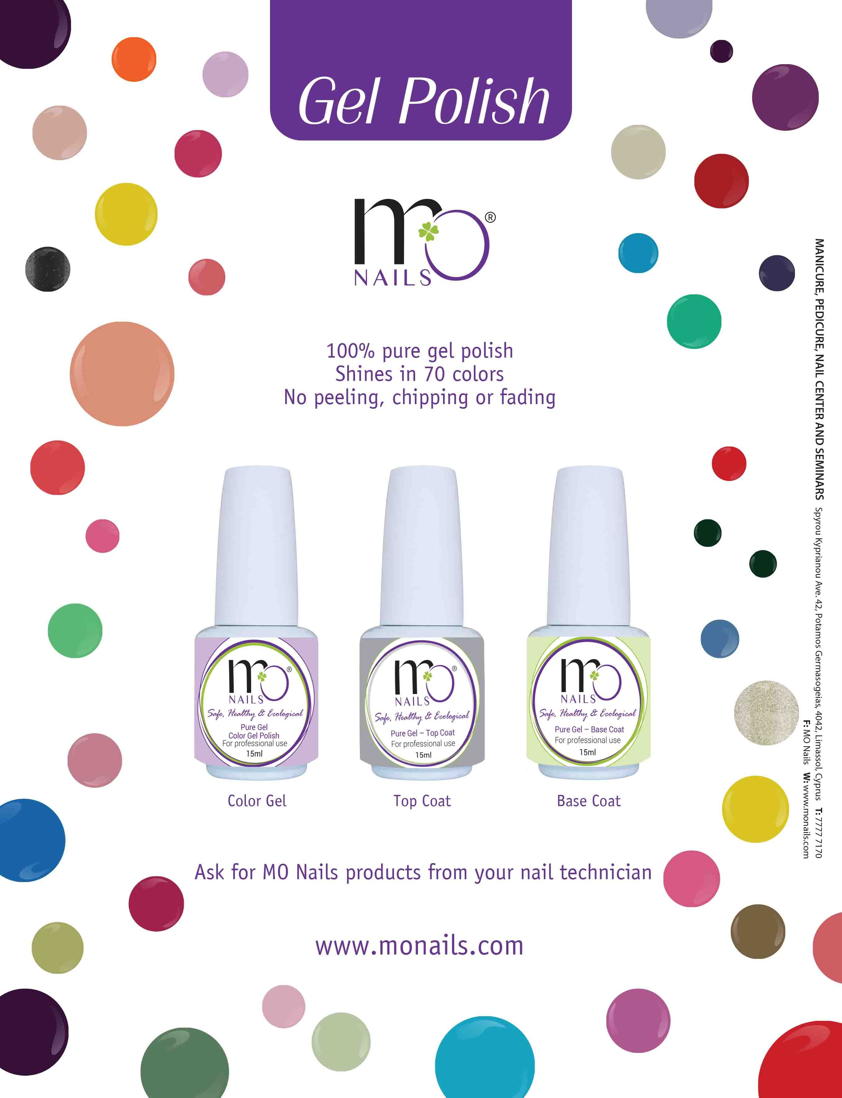 100% pure gel polish! Shines in more than 120 colors! No peeling ...