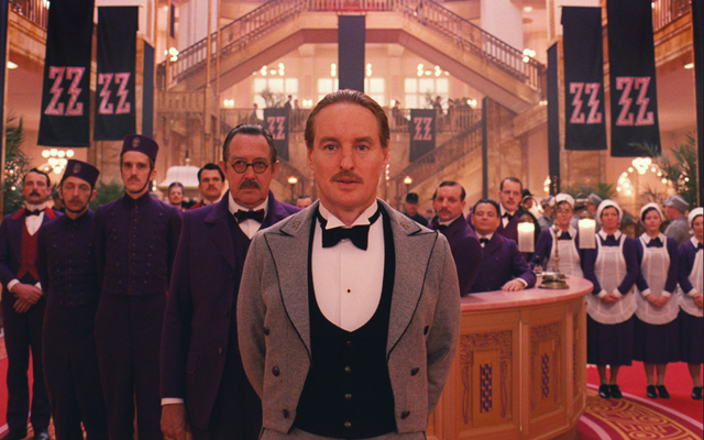 Wes Anderson goes goth for 'The Grand Budapest Hotel'