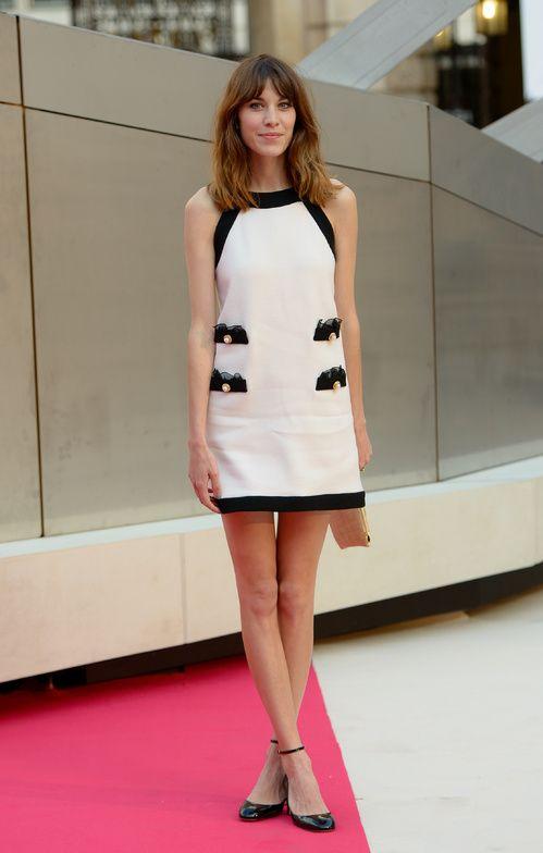Alexa Chung at the Royal Academy of Arts in London in May 2012